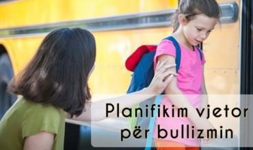 Plan bullizmi për vitin shkollor 2019-2020