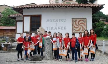 Vizitë në Mozaikun e Tiranës