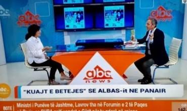 """""""Kuajt e betejës"""" së ALBAS-it në panair, botuesja Rita Petro, prezanton titujt e rinj"""