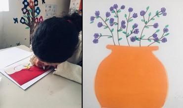 Pikturat dhe punimet artistike të 10-vjeçares nga Memaliaj që konkurron mes talentesh të veçantë