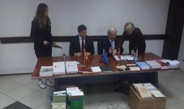 Zbatimi i gjuhës shqipe në Maqedoninë e Veriut, Akademia e Shkencave bashkëpunim me Agjencinë e posaçme