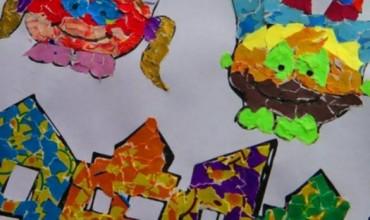 Si të bëjmë mozaikë prej letre