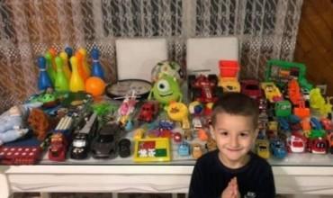 Fëmija nga Gjakova që dhuroi të gjitha lodrat për fëmijët e prekur nga tërmeti