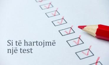 Si hartohet një test