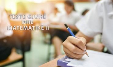 Teste përmbledhëse për periudhën shtator-dhjetor, gjuhë  dhe matematikë, klasa e dytë