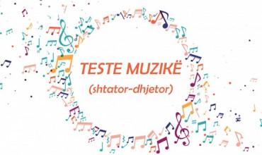 Muzikë-AMU, teste përmbledhëse, periudha parë