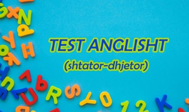 Test në lëndën anglisht për vlerësimin tremujor, klasa III