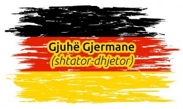 Test përmbledhës për gjuhën gjermane të klasës X, periudha e parë