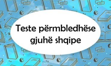Teste përmbledhëse, gjuhë shqipe për AMU dhe AML