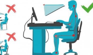 Rregullat e qëndrimit para kompjuterit dhe mirëmbajtja e tij