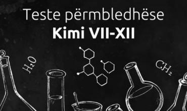 Teste përmbledhëse të periudhës së parë, kimi VIII-XII