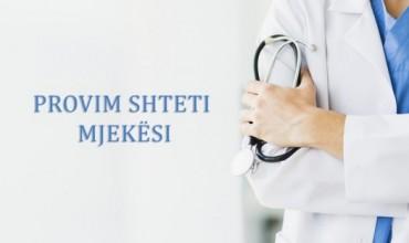 Organizimi i provimeve të shtetit për profesionet e mjekësisë, dhjetor 2019 - janar 2020