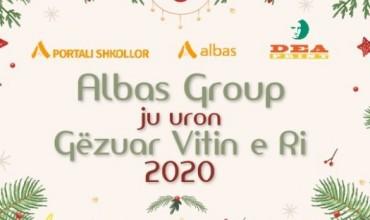 """""""Albas-Group"""" ju uron gëzuar Vitin e Ri 2020!"""
