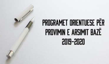 Programet orientuese për provimin kombëtar të arsimit bazë