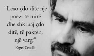 Mësuesi i letërsisë, Erget Cenolli, mes pasionit për mësimdhënien, krijimit poetik dhe shkrimit publicistik