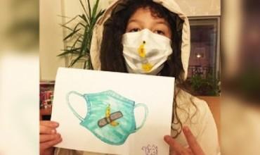 Art për koronavirusin, 11-vjeçarja vlonjate jep mesazhin më të fuqishëm nëpërmjet vizatimit të saj!