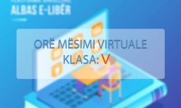 Orë mësimore 90 minuta në lëndën Gjuhë shqipe 5