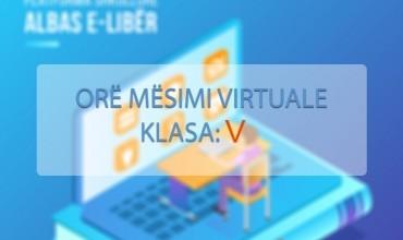 """Orë mësimi virtuale në gjuhën frënge për klasën e pestë, tema mësimore """"Fais le point"""""""