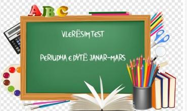 Klasa I-V, teste përmbledhëse për periudhën e dytë në të gjitha lëndët