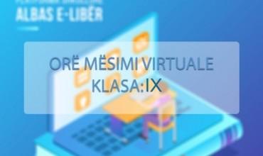 """Gjuhë shqipe 9, tema mësimore """"Kryefjala"""""""