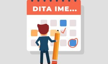 Izolimi social, kalendar ditor për t'u organizuar sa më mirë e për të zhvilluar autonominë e fëmijëve