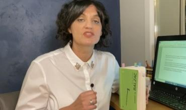 Për maturantët video me lexim të komentuar - nga Rita Petro
