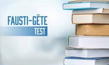 Test i mbështetur mbi komentet e çelësit të Letërsisë dhe Gjuhës shqipe (Fausti-Kopshti)