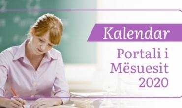 """Kalendari dhe organizimi i testimit të informatizuar për portalin """"Mësues për Shqipërinë"""""""