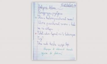 Çfarë (s)lexuam nga reagimi i mësueses te fletorja e nxënësit