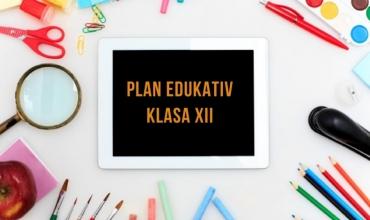 Model plani edukativ për klasat e maturës