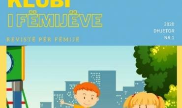 """""""Klubi i fëmijëve"""", revista e parë online falas për të vegjlit tanë"""