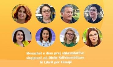 Dita Ndërkombëtare e Librit për Fëmijë - Mesazhet e disa prej shkrimtarëve shqiptarë