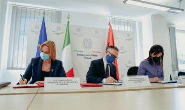 Nënshkrimi i Marrëveshjes së Mirëkuptimit mbi Programin ILIRIA