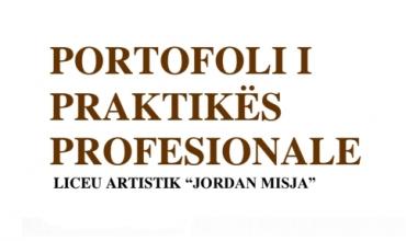 Dosja për vlerësimin e praktikës profesionale - Dega Pikturë
