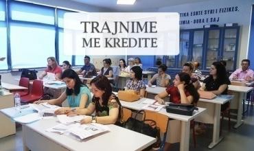 """Trajnim me kredite më 28 gusht për modulin """"Mësimdhënia në kurrikulat e reja"""""""