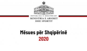 """Hapet portali """"Mësues për Shqipërinë"""" 2020"""