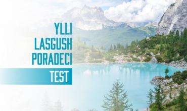 Test i mbështetur mbi komentet e çelësit të Letërsisë dhe Gjuhës shqipe (Ylli-Lasgush Poradeci)