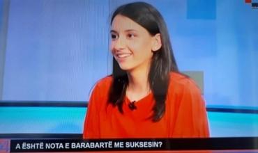 Nxënësja Adea Nesturi: A është nota e barabartë me suksesin?
