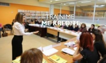 """Trajnim me kredit mbi modulin """"Përfshirja e nxënësve me aftësi ndryshe në arsimin gjithëpërfshirës"""""""