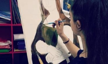 Kejsi Xhemo: Piktura, arti i bukur që ndryshoi dhe plotësoi jetën time