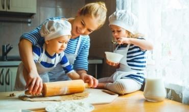 Të gatuash me fëmijët gjatë fundjavës