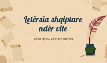Gjuha shqipe përmes letërsisë ndër vite