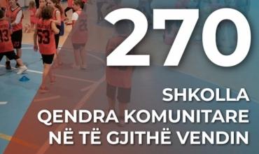 Kushi: 270 shkolla qendra komunitare, hapësira të shëndetshme për vullnetarizmin dhe aktivizimin e të rinjve