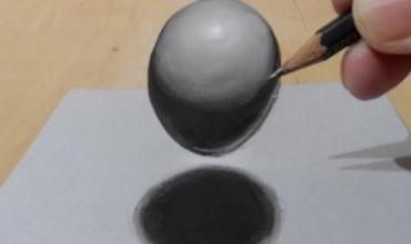 Si të vizatoni perspektivën e rrethit