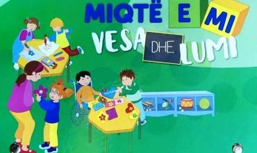 """""""Miqtë e mi, Vesa dhe Lumi"""" për klasat e parashkollorit, Kosovë"""