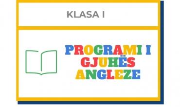 Programi i gjuhës angleze për klasat e para