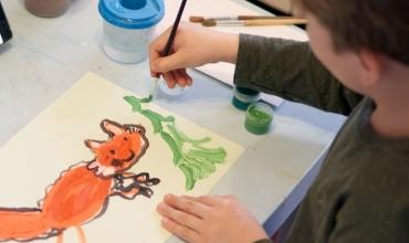 Domethënia e vizatimit të kafshëve të ndryshme nga fëmijët e moshës 5-6 vjeçare